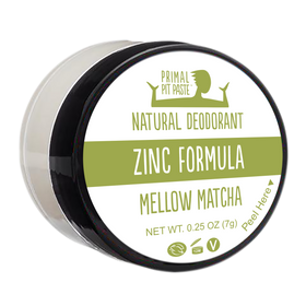 Zinc Mellow Matcha Natural Deodorant Mini