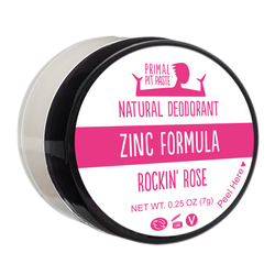 Zinc Rockin' Rose Natural Deodorant Mini