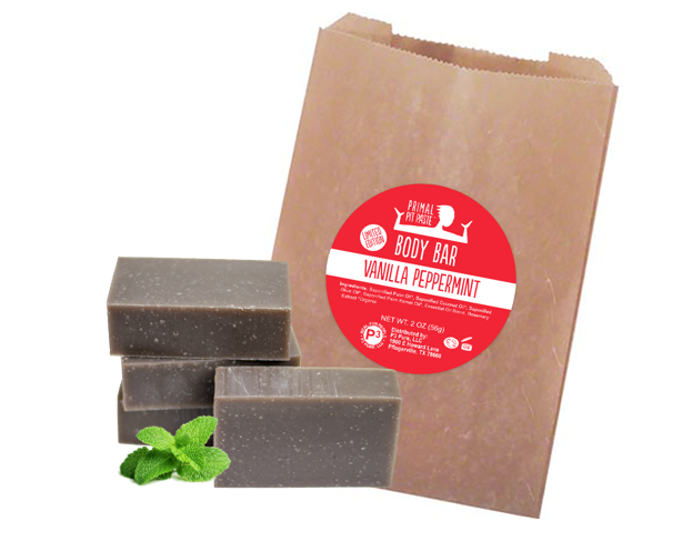 Vanilla Peppermint Soap Body Bar