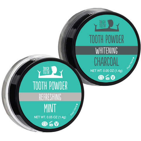 Tough Teeth™ Black and White 2 Pack Minis