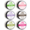 Six-Pack Zinc Sampler (Mini Sizes) Natural Deodorant