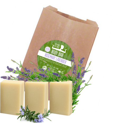 Rosemary Lavender Soap Body Bar