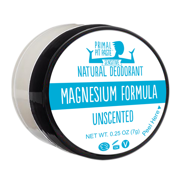 Magnesium Unscented Natural Deodorant Mini - SENSITIVE
