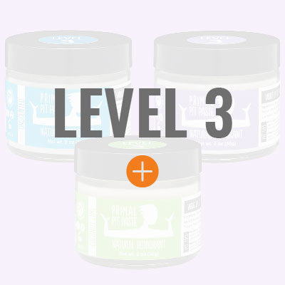 NATURAL DEODORANT - LEVEL 3 STRENGTH