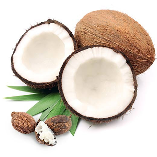 Shea nuts and coconuts