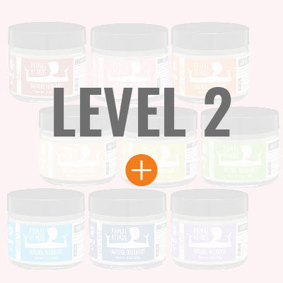 Long lasting protection for skin already acclimated to natural deodorant. Available in Jars, Sticks, and Minis.