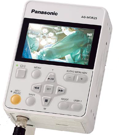 Panasonic:Panasonic Memory Card Portable Recorder,HD Medical Grade Recorder