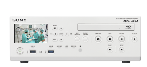 4K 3D and 2D Medical Grade Recorder:Sony Medical:Sony HVO4000MT 4K 3D and 2D Medical Video Recorder