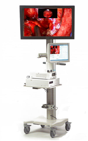 Video Cart:Sony Medical:Sony Roll Stand Video Cart