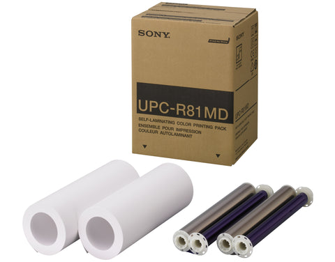 Sony Medical:Sony UPCR81MD Letter Size Color Print Pack,Letter Size Color Printer Paper