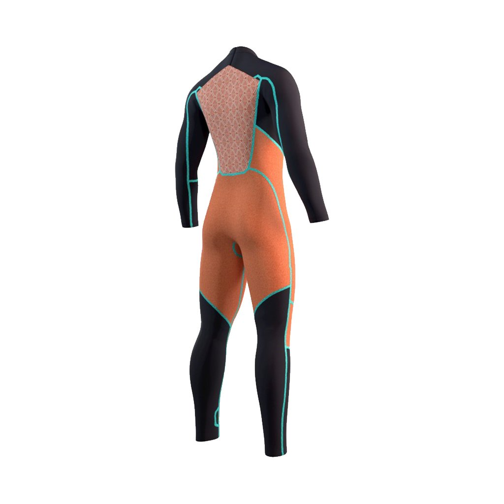 2021 Mystic Majestic 5/3mm Back Zip Full Wetsuit