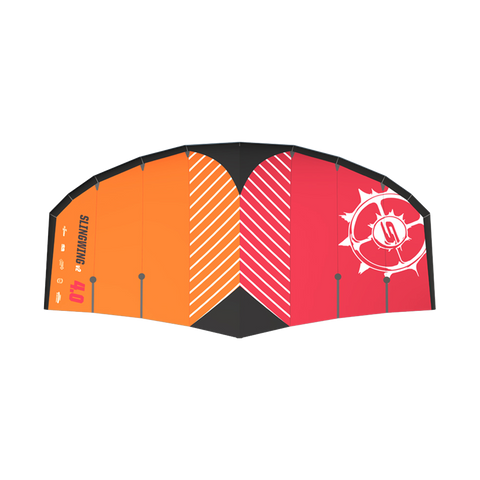 2021 Slingshot Slingwing V2 Orange Foil Wing