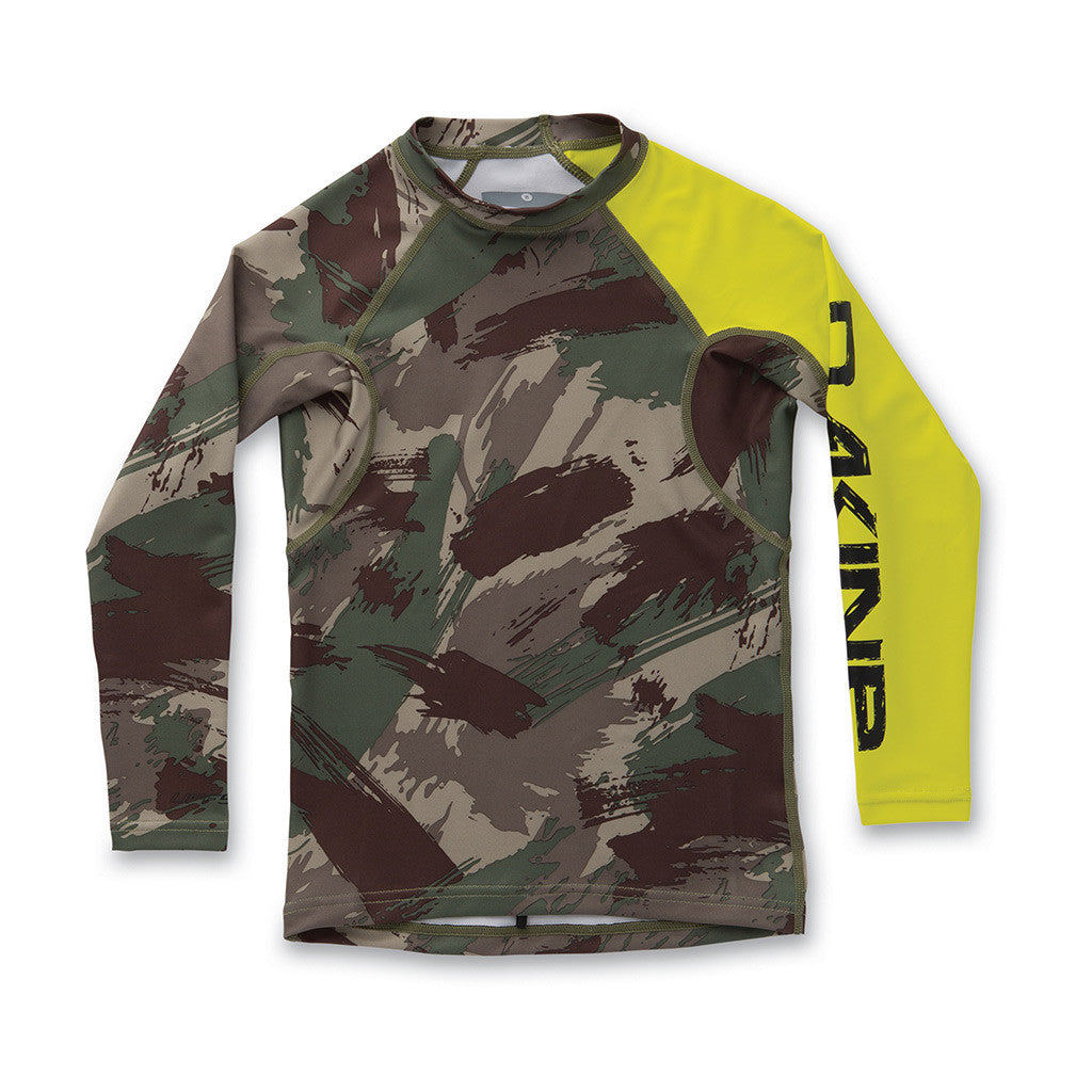 Dakine Boy's Heavy Duty Snug Fit L/S Rashguard - Kids