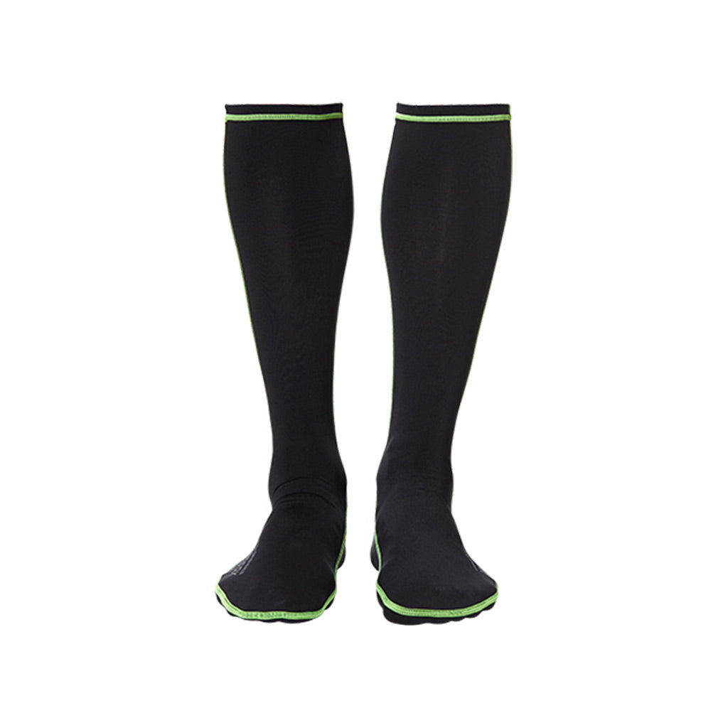 Worn Frictionless Wetsuit Socks