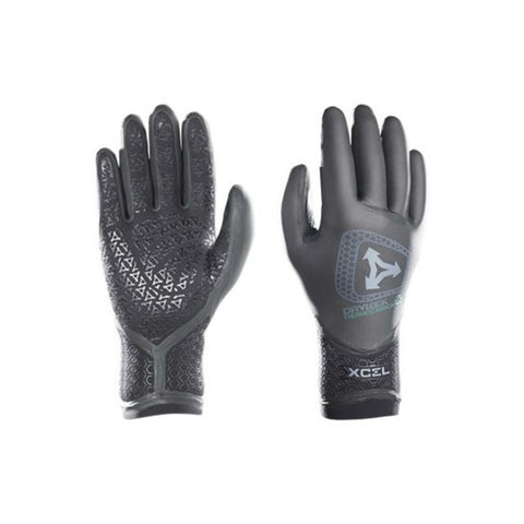 Xcel Drylock TDC 5 Finger 3mm Gloves