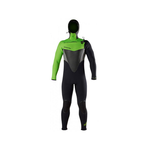 Hyperflex Voodoo 4mm Hooded FZ Full Wetsuit