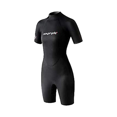 NP 3K 3/2mm Back Zip Women's Shorty Wetsuit