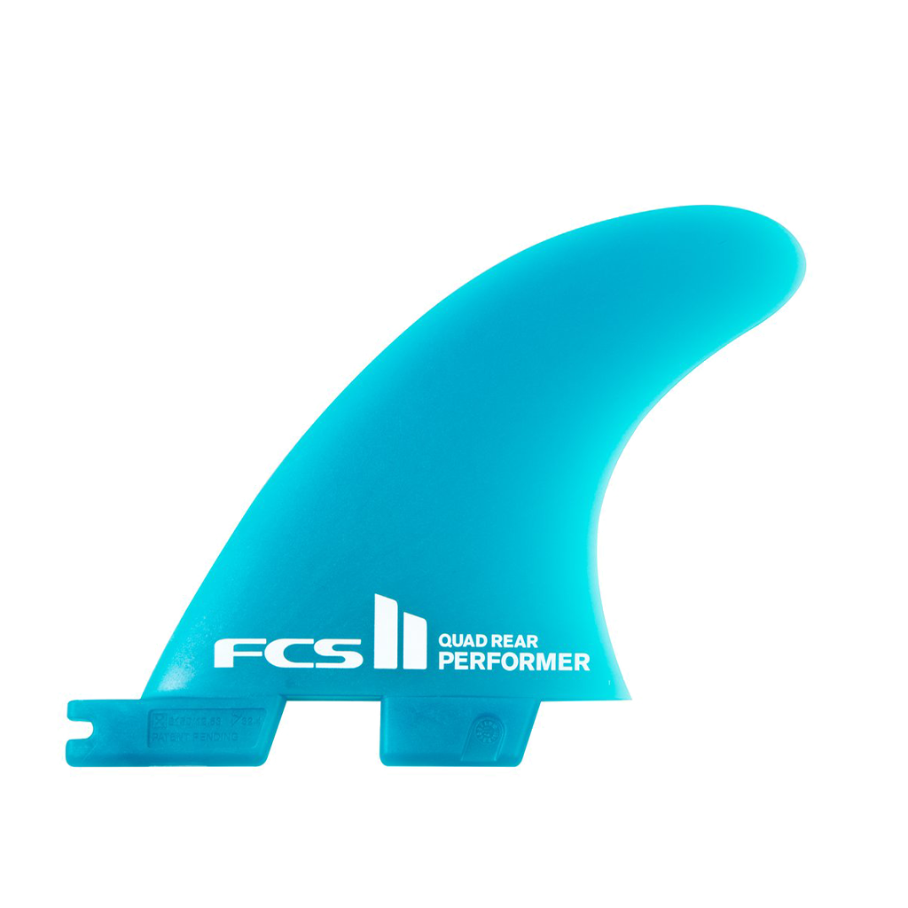 FCS II Performer Neo Glass Quad Rear Fin Set +