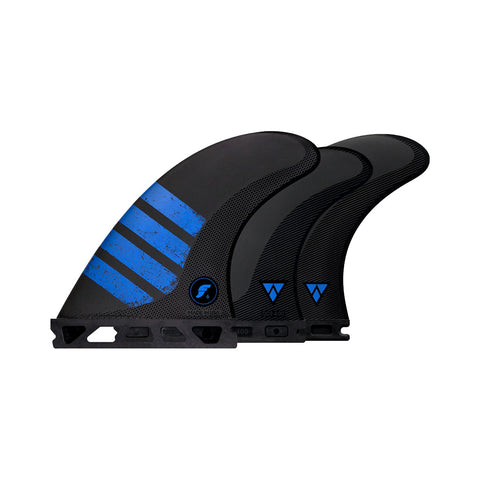 Futures F6 Alpha Carbon Tri-Quad Fin Set