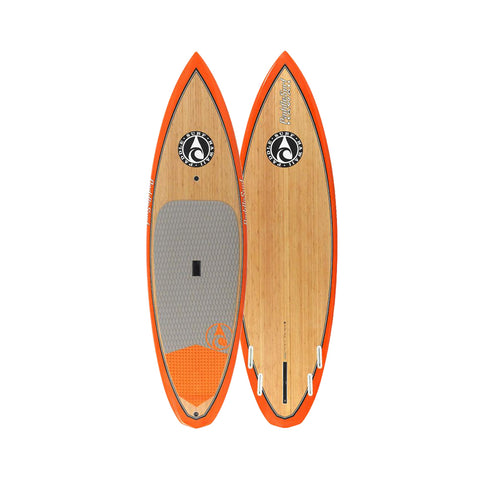 "Paddle Surf Hawaii Ripper 9'6"" Wood Veneer Stand Up Paddleboard"