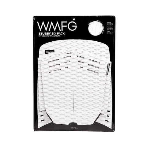 MFG Stubby Six Pack Kiteboard Deck Pad White