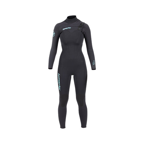 Hyperflex Vyrl 4/3mm Front Zip Womens Full Wetsuit