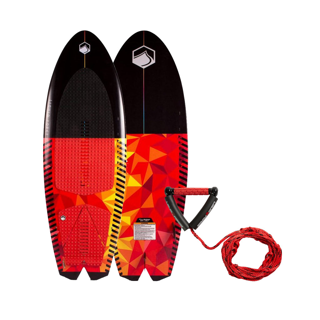 2021 Liquid Force Rocket Wakesurfer w/ Wakesurf Rope