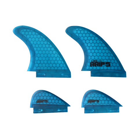 Lib Tech Quad Wakesurf Fin Set