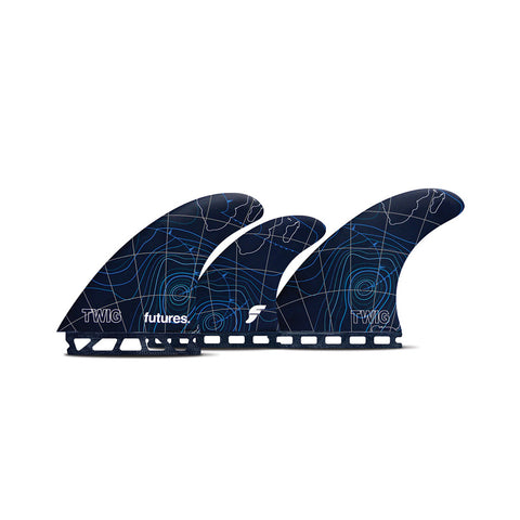 Futures Twiggy Tri-Quad Fin Set