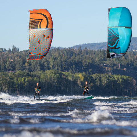 Lessons:  Intermediate/Advanced Ride-Along Kiteboarding Lessons--Bellingham