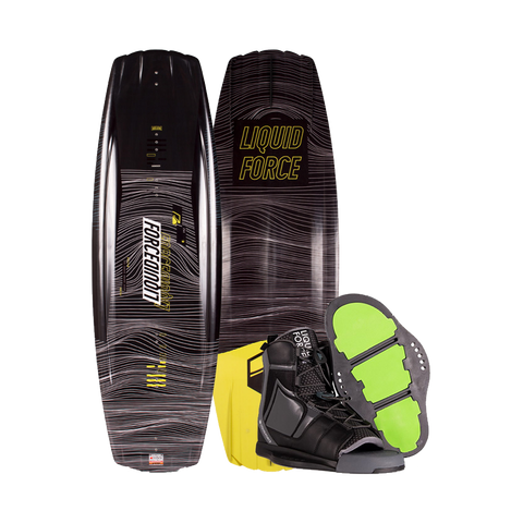 2020 Liquid Force Classic Wakeboard w/ Index Boots
