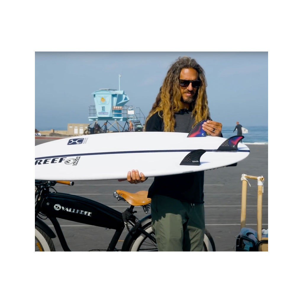 Futures Rob Machado Pivot Tri Fin Set