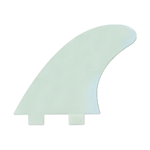 FCS M3 Natural Glass Flex Tri Fin Set