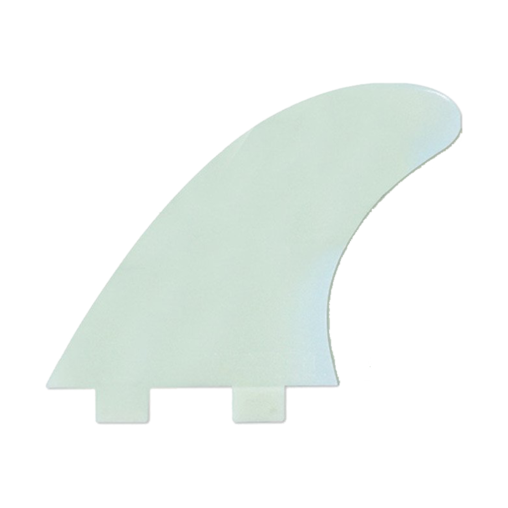 FCS M5 Natural Glass Flex Tri Fin Set