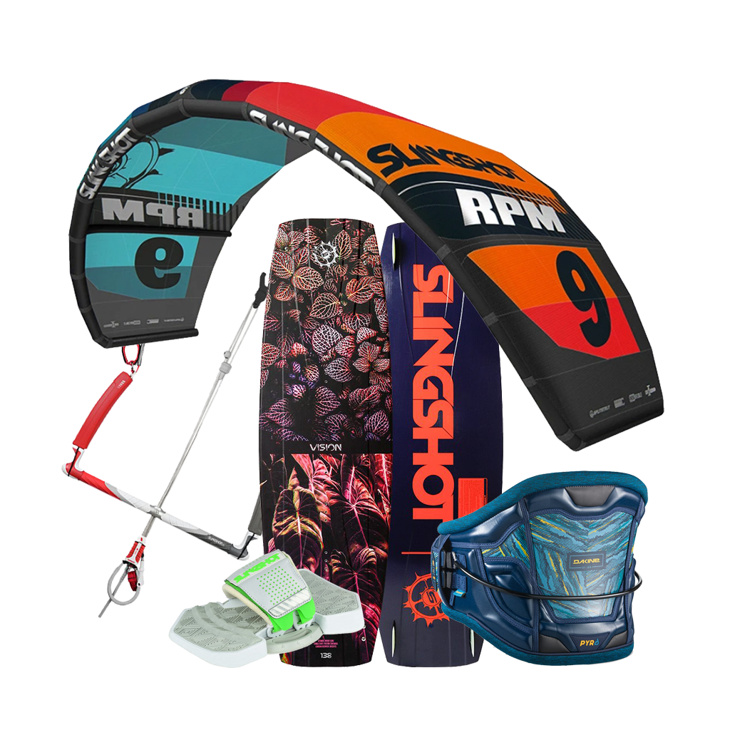 2019 Slingshot RPM Complete Progression Kite Package