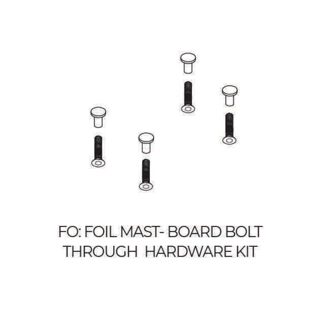 2020 Liquid Force Foil Board Bolt Through Hardware kit