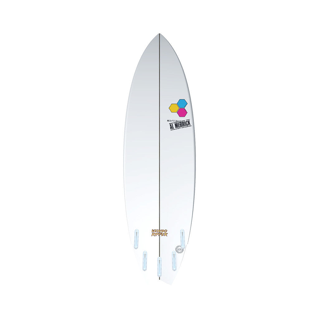 "Channel Islands 5'10"" Weirdo Ripper Surfboard Bottom"