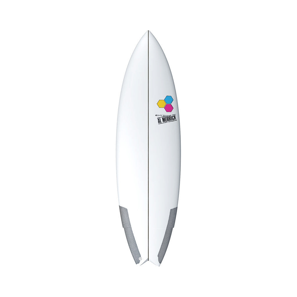 "Channel Islands 5'10"" Weirdo Ripper Surfboard Top"