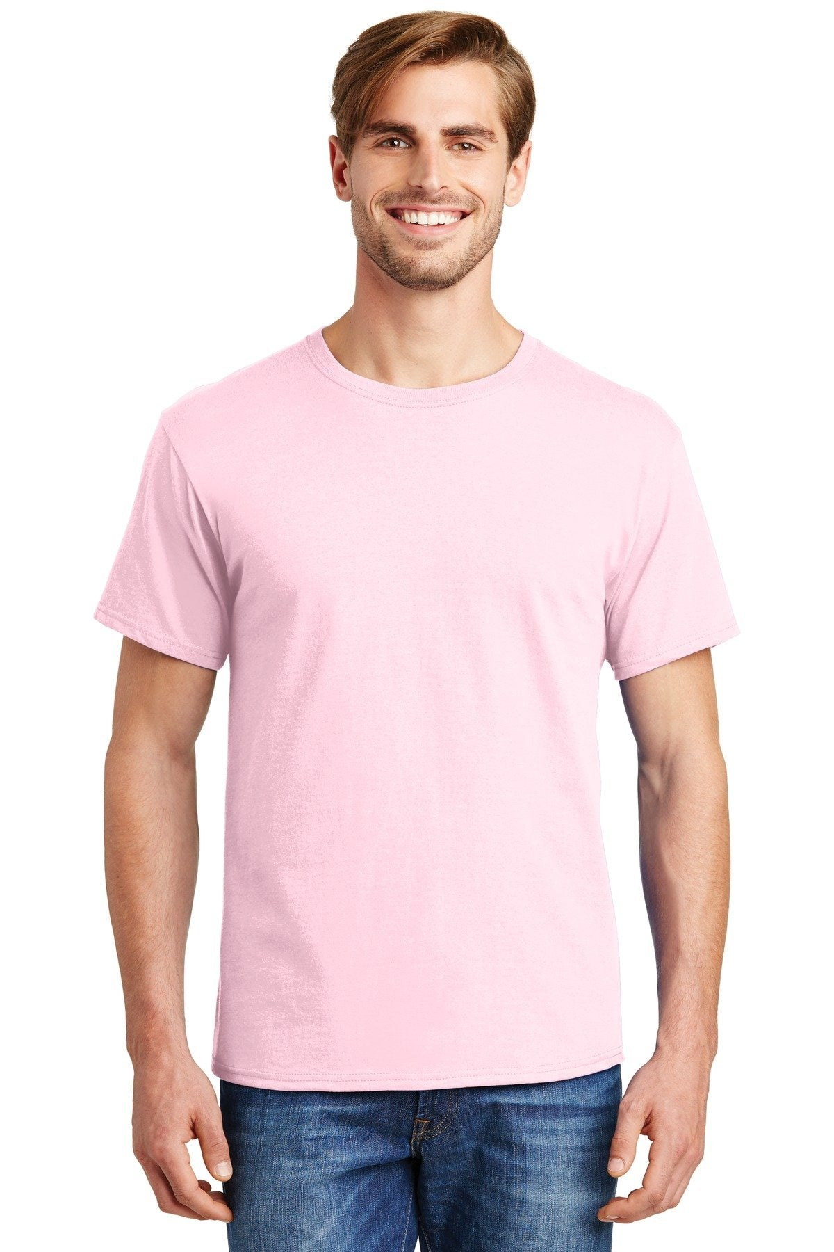 Pale Pink - Hanes 5280