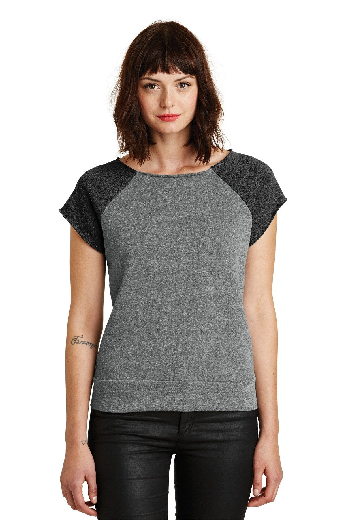 Eco Grey/ Eco Black - Alternative Apparel AA2823