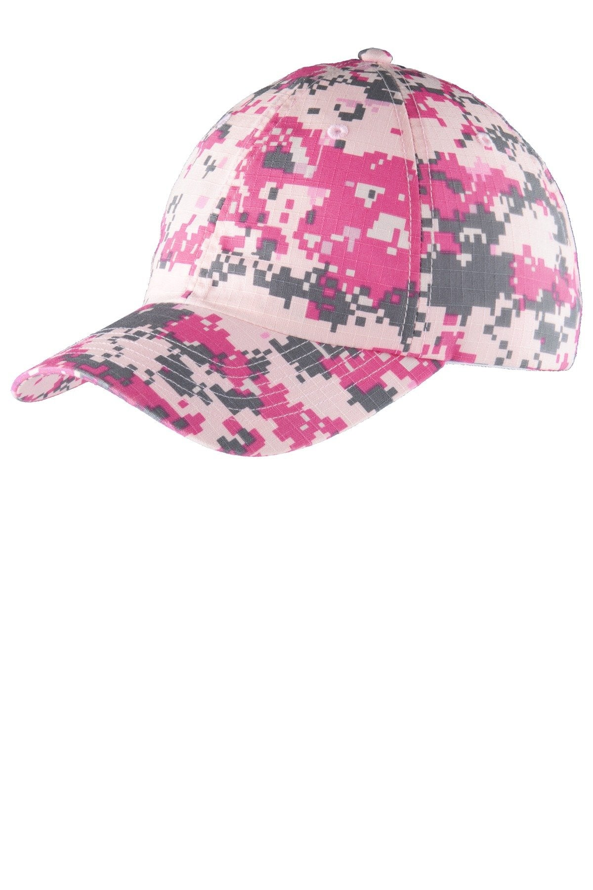 Pink Camo - Port Authority C925