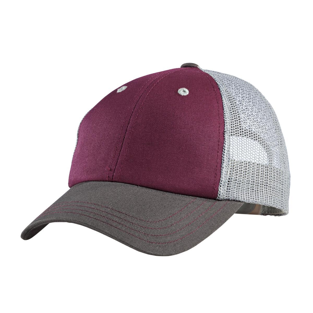 Maroon/Charcoal/Grey - District DT616