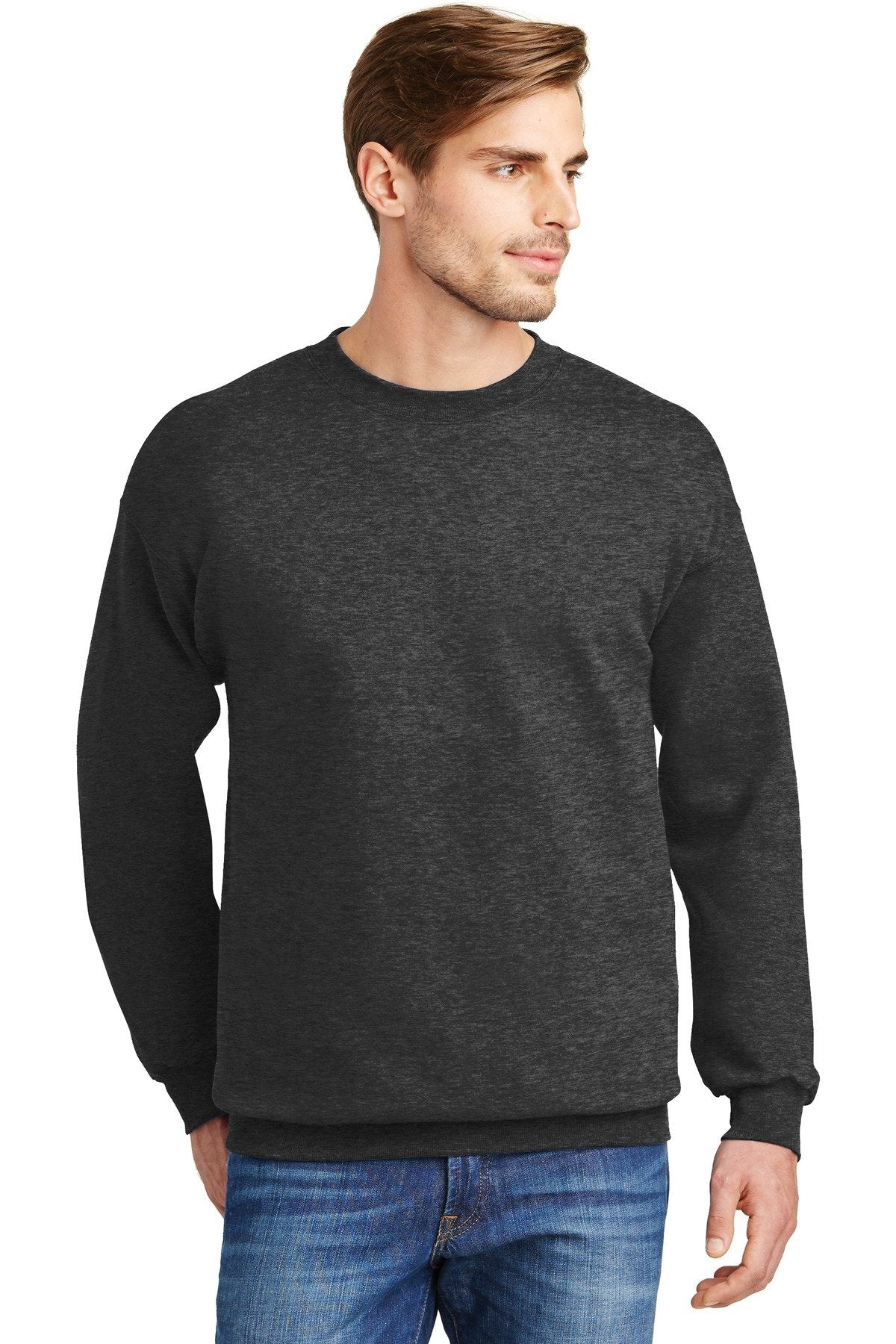 Charcoal Heather - Hanes F260
