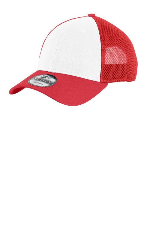 White/Scarlet Red - New Era NE204