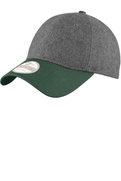 Graphite Heather/ Dark Green - New Era NE206
