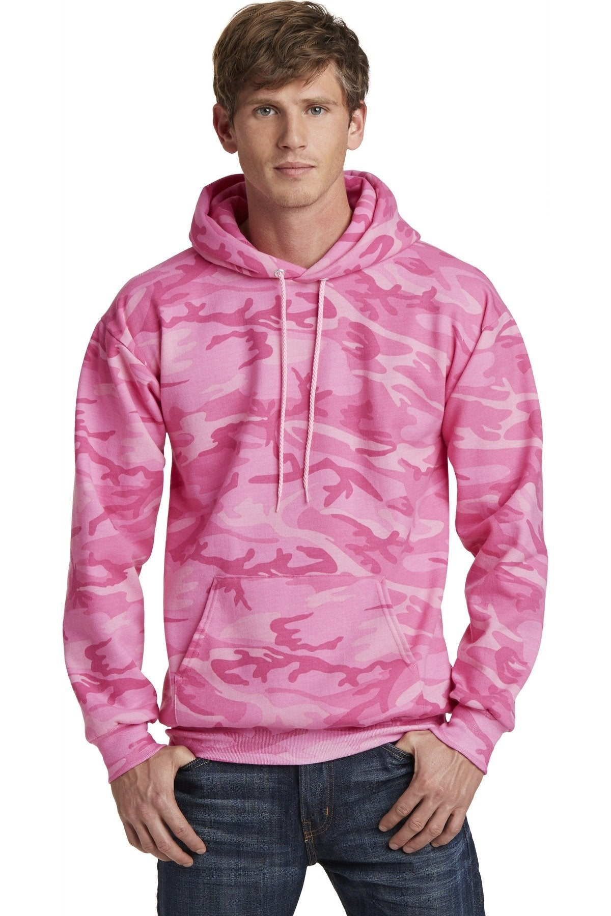 Pink Camo - Port & Company PC78HC