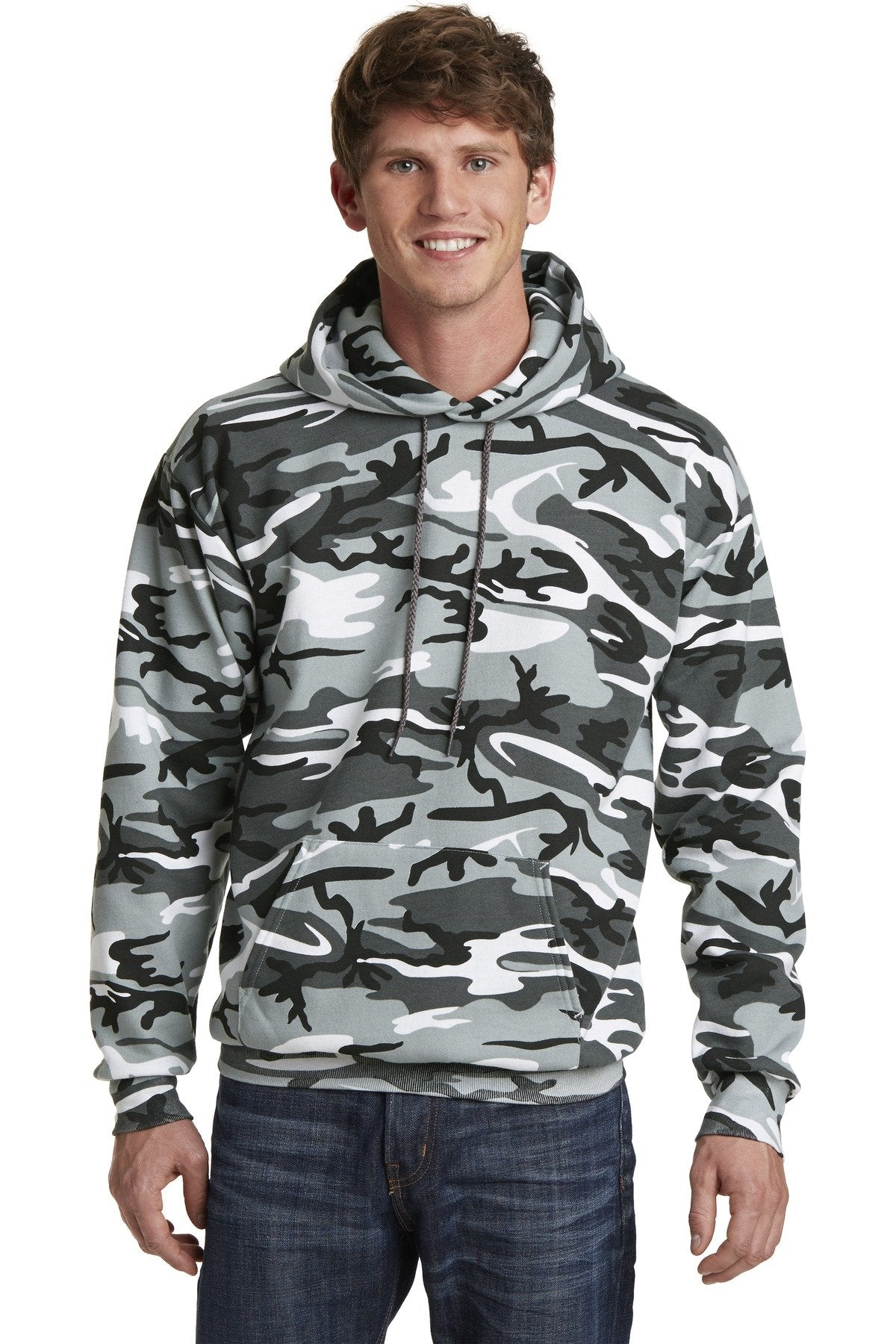 Winter Camo - Port & Company PC78HC