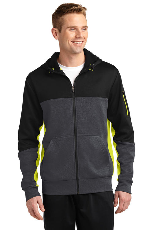 Black/ Graphite Heather/ Citron - Sport-Tek ST245
