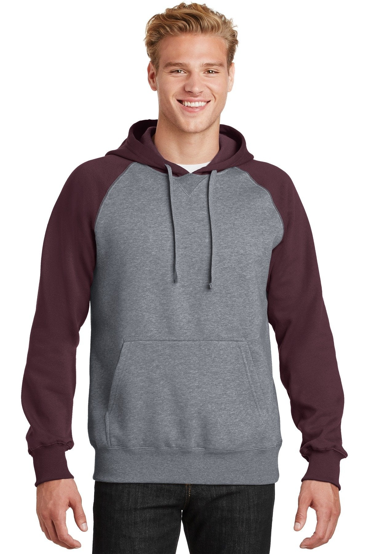 Maroon/ Vintage Heather - Sport-Tek ST267