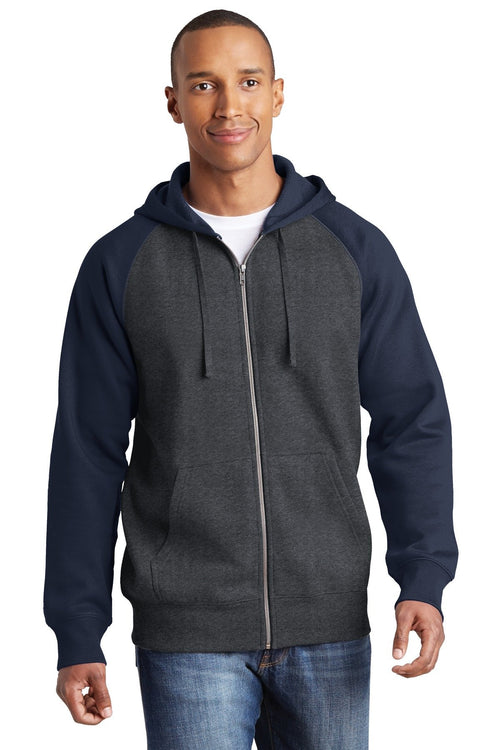 Graphite Heather/ True Navy - Sport-Tek ST269